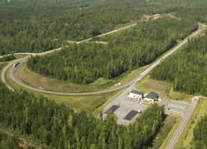 National Center for Asphalt Technology test track
