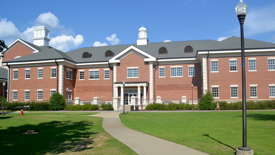 Photo of Sciences Center and Mathematics, Auburn University, AL