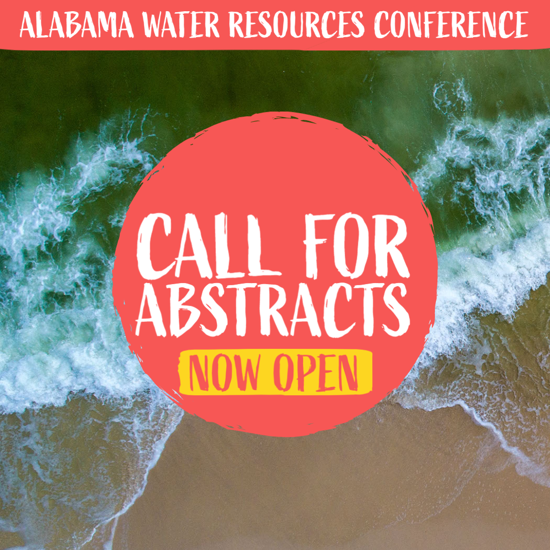 Call for Abstracts Now Open for 2021 Alabama Water Resources Conference